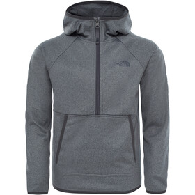 The North Face Kids Tek Glacier 1/4 Zip Jacket TNF Medium Grey Heather